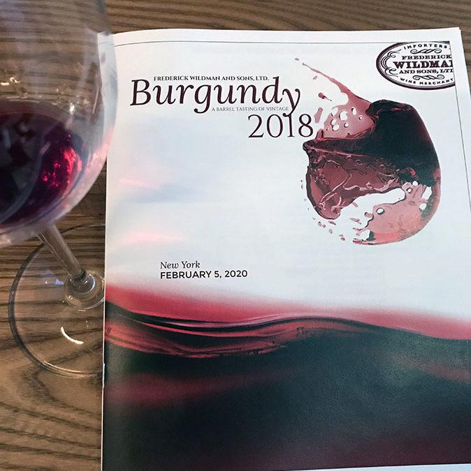 The 2018 Burgundies Have Arrived